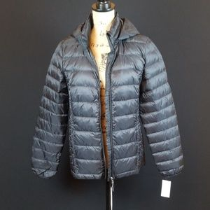 Heat keep packable ultra light down puffer jacket